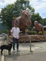 恐竜と一緒に