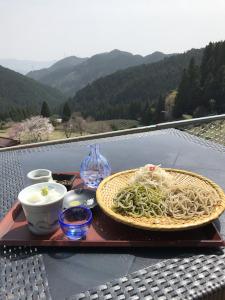雲上蕎麦・3種盛り(東栄町・茶禅一)