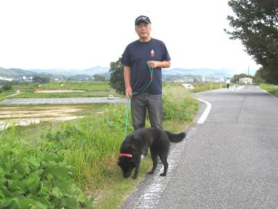 9月30日矢作川堤防