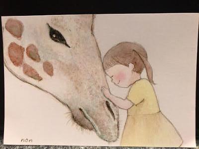ほのかちゃんポストカ-ド