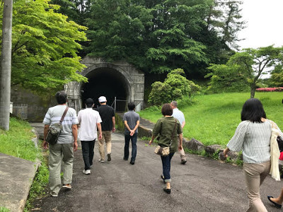 吟醸工房・トンネル貯蔵庫