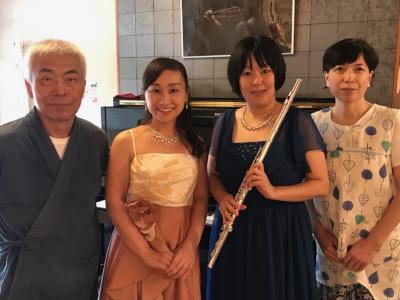 フル-トとピアノ 演奏会