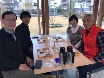 日本茶...