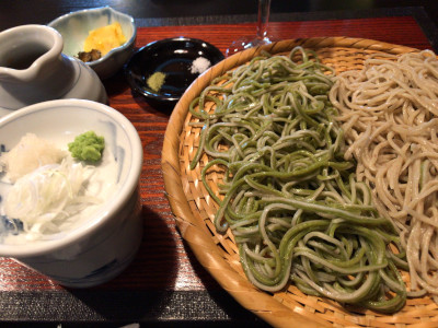 二種盛り蕎麦(茶禅一)